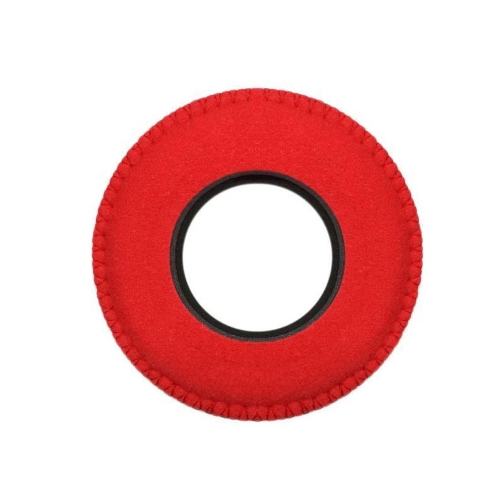 Protetor Ocular Eyecushion Redondo Extra Largo Bluestar Ultrasuede Vermelho