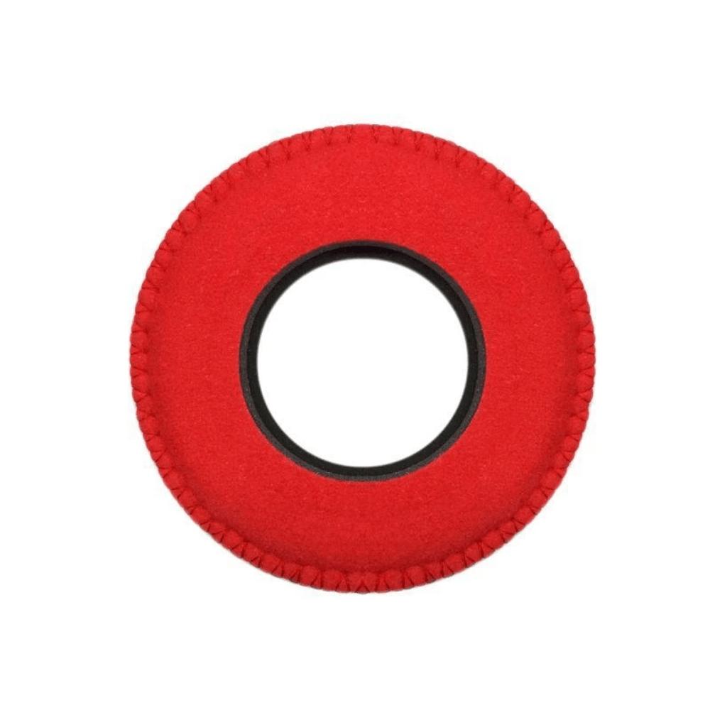 Protetor Ocular Eyecushion Redondo Extra Largo Bluestar Ultrasuede Vermelho  - Casa do Roadie
