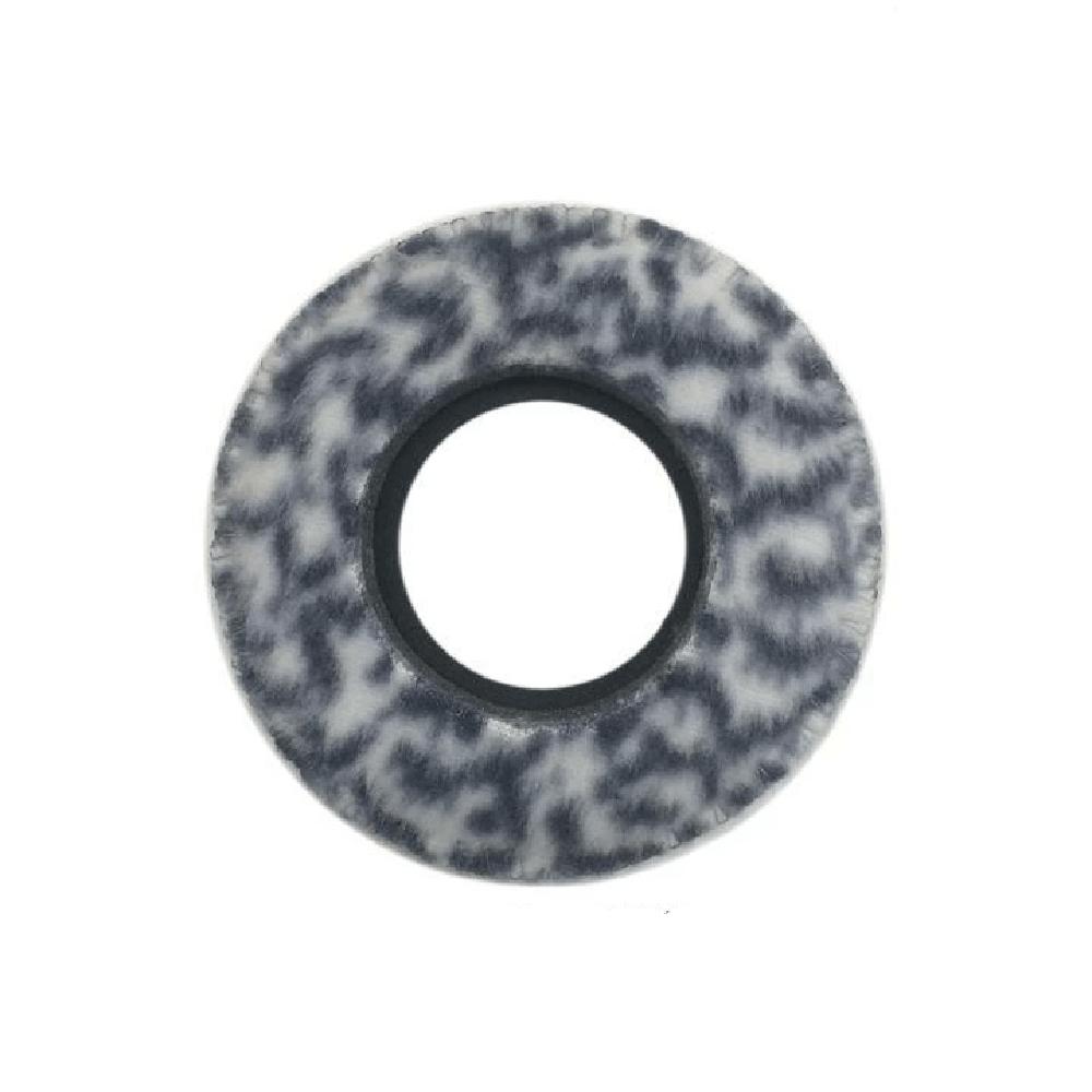 Protetor Ocular Eyecushion Redondo Largo Bluestar Fleece Oncinha  - Casa do Roadie