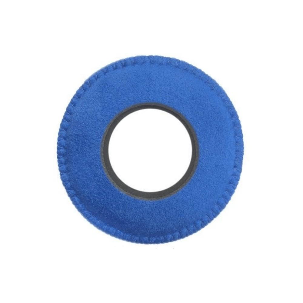 Protetor Ocular Eyecushion Redondo Largo Bluestar Ultrasuede Azul
