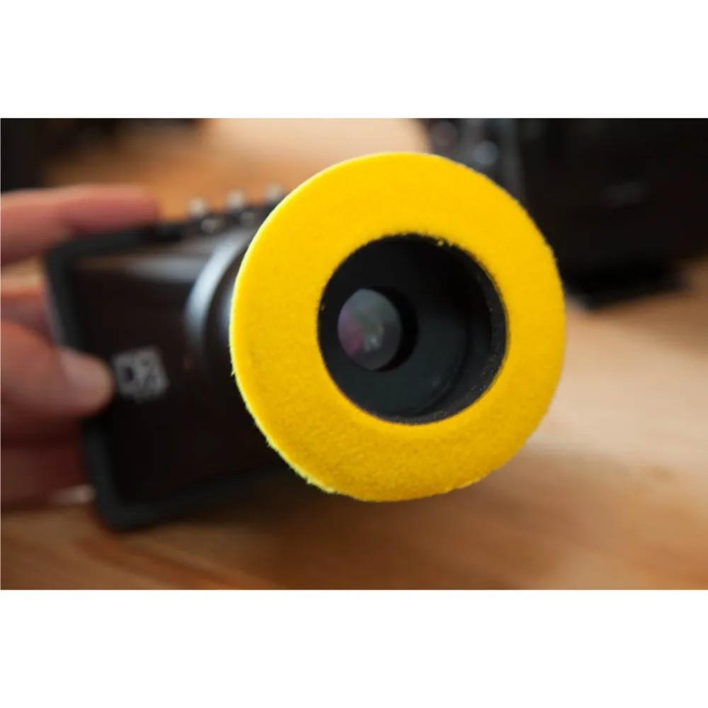 Protetor Ocular Eyecushion Redondo Pequeno Bluestar Ultrasuede Preto  - Casa do Roadie