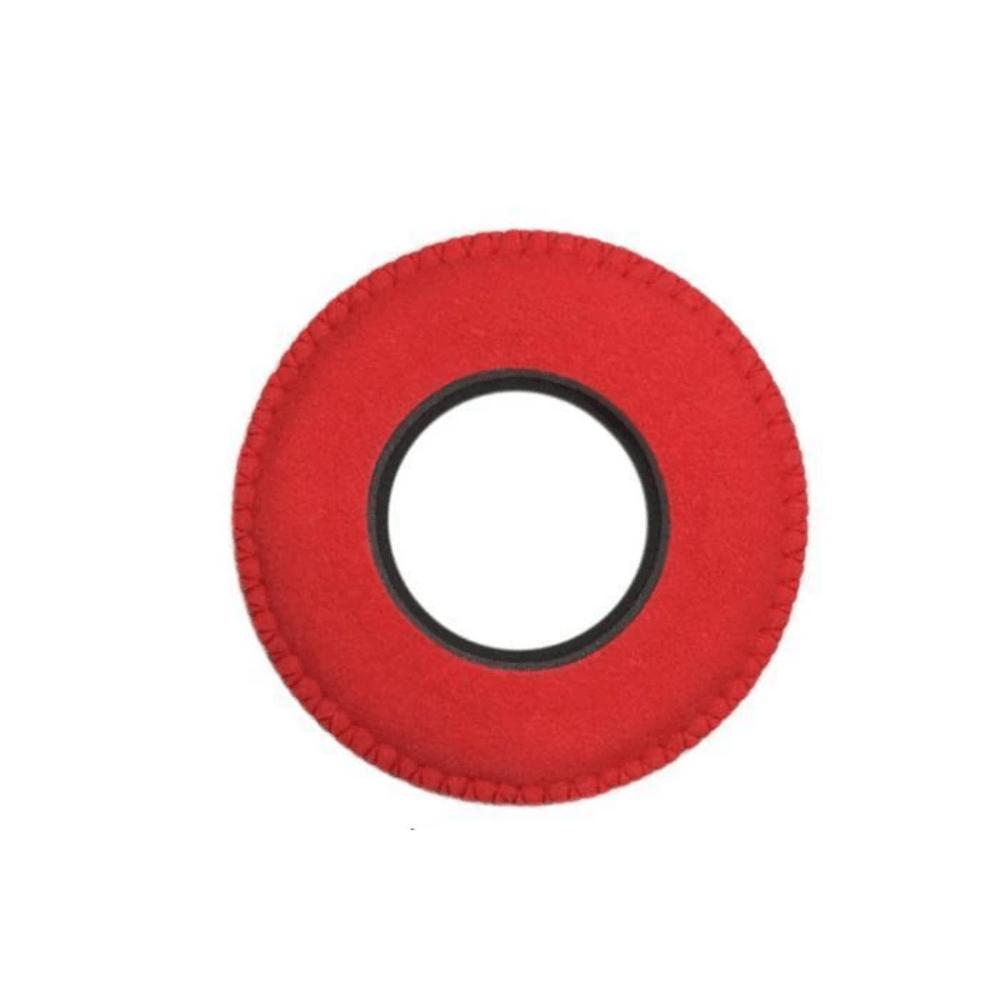 Protetor Ocular Eyecushion Redondo Pequeno Bluestar Ultrasuede Vermelho  - Casa do Roadie
