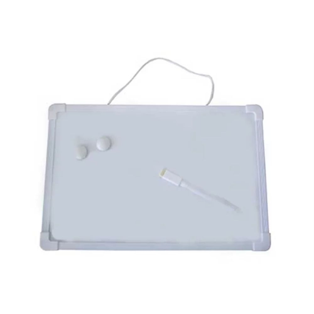 Quadro branco para aviso 20cm x 30cm  - Casa do Roadie