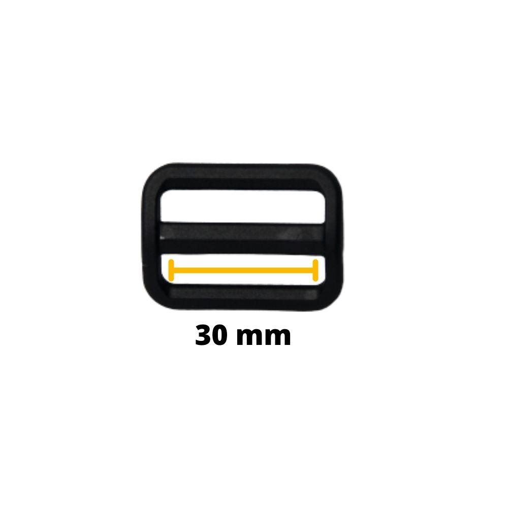 Regulador de Nylon para Alças 30mm YKK - Unitário