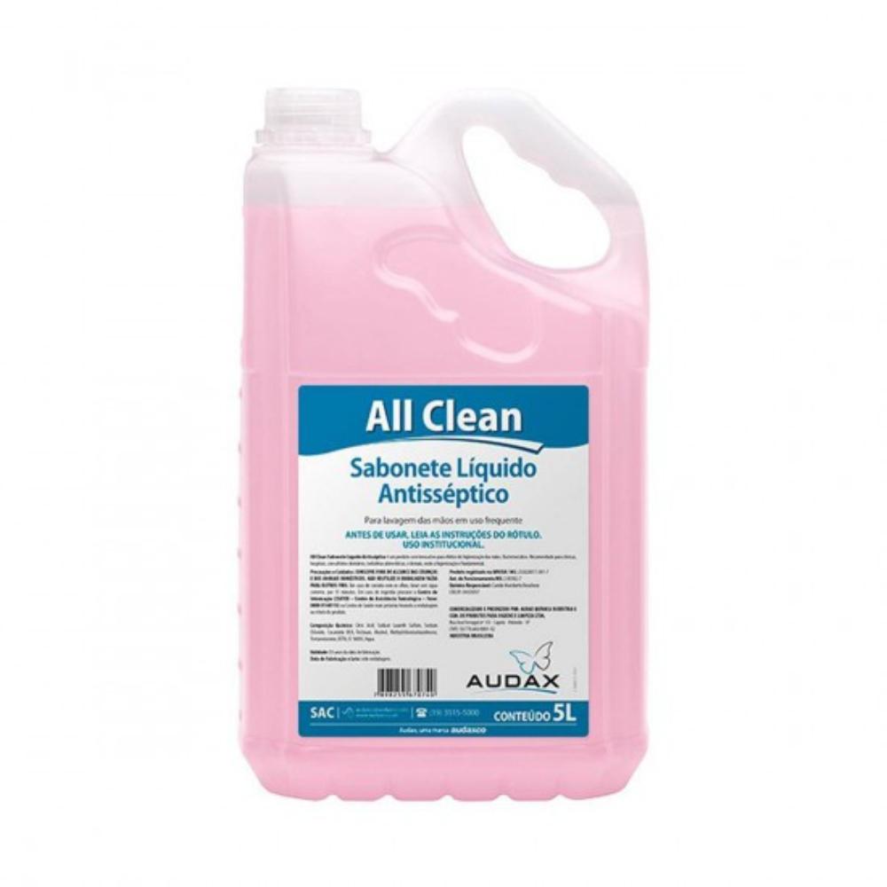 Sabonete Liquido Antisséptico All Clean Audax 5 Litros  - Casa do Roadie