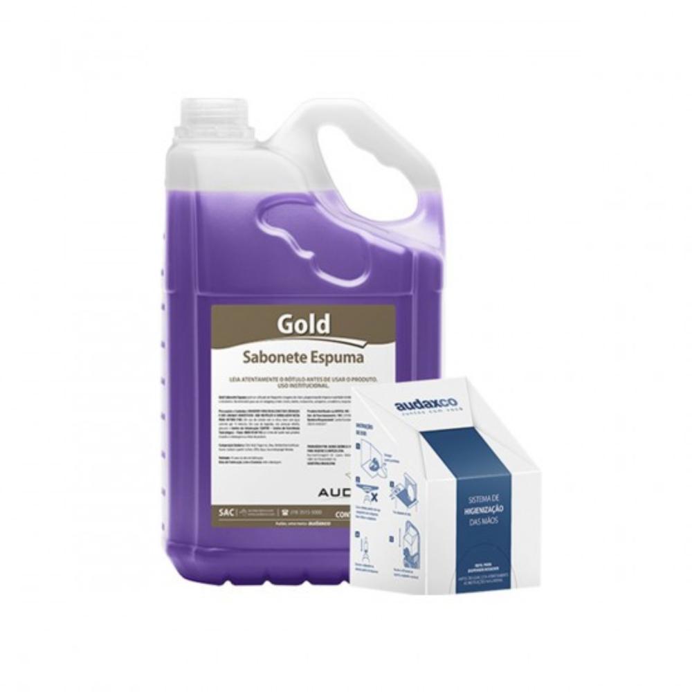 Sabonete Liquido Espuma Floral Gold Audax 5 Litros