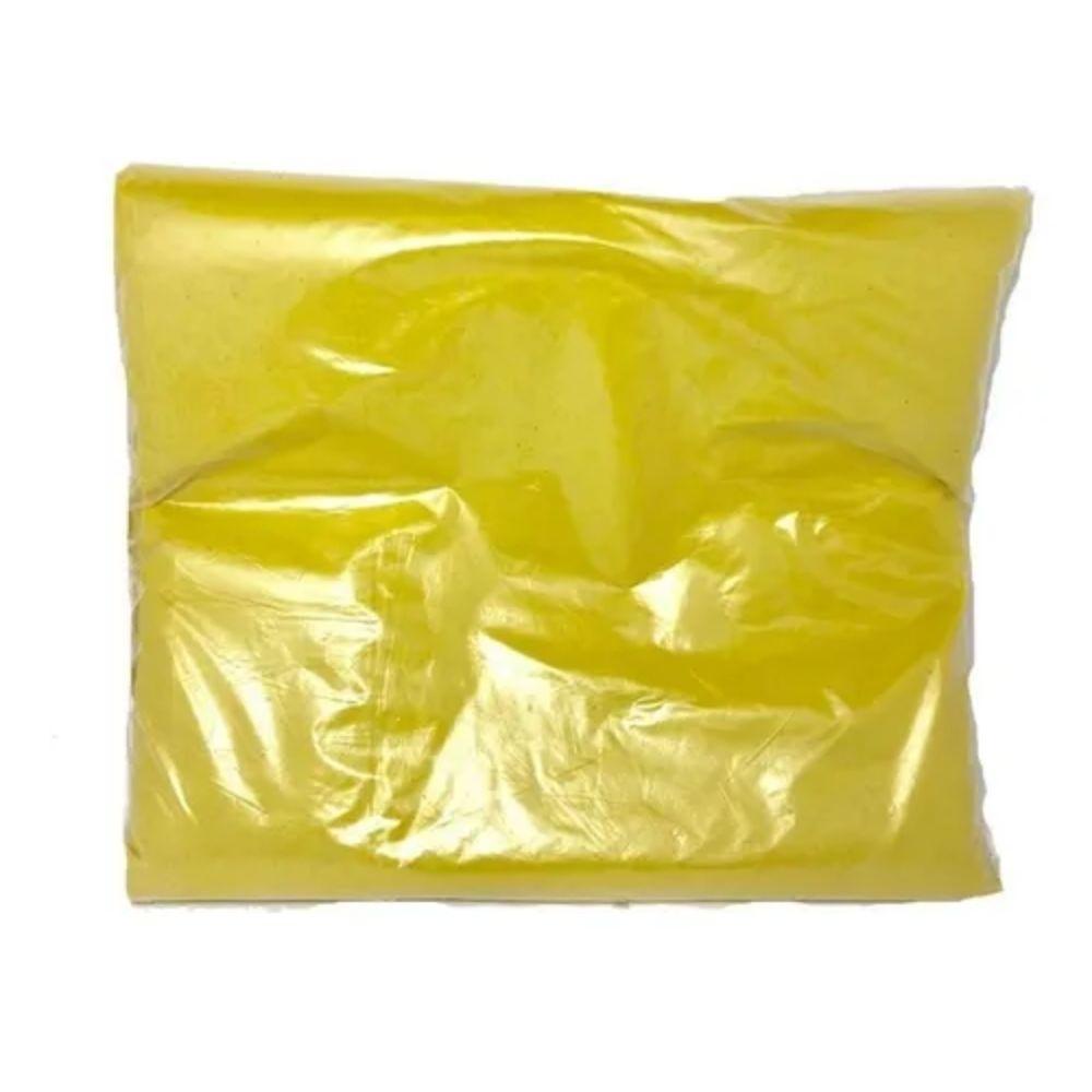 Saco de Lixo 100L Comum Amarelo - 25 Unidades  - Casa do Roadie