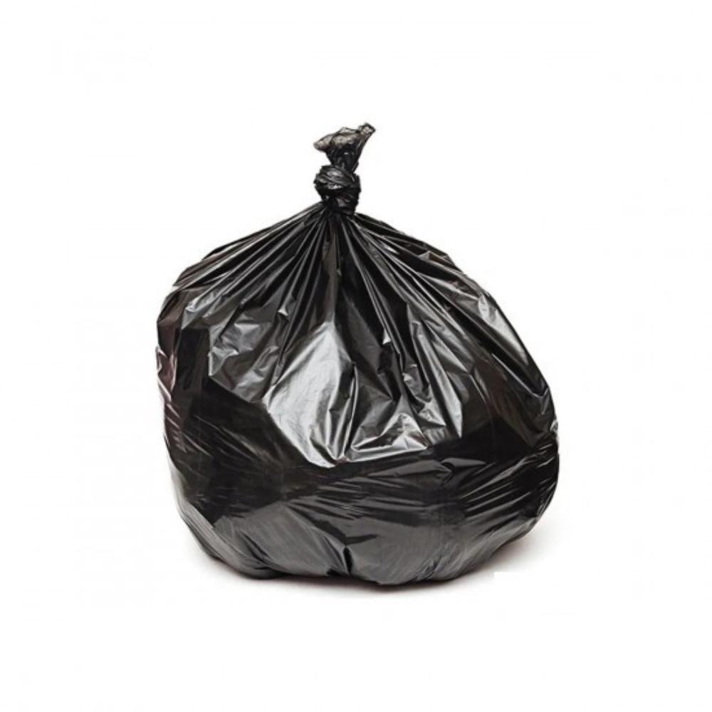 Saco de Lixo 100L Comum Preto - 25 Unidades