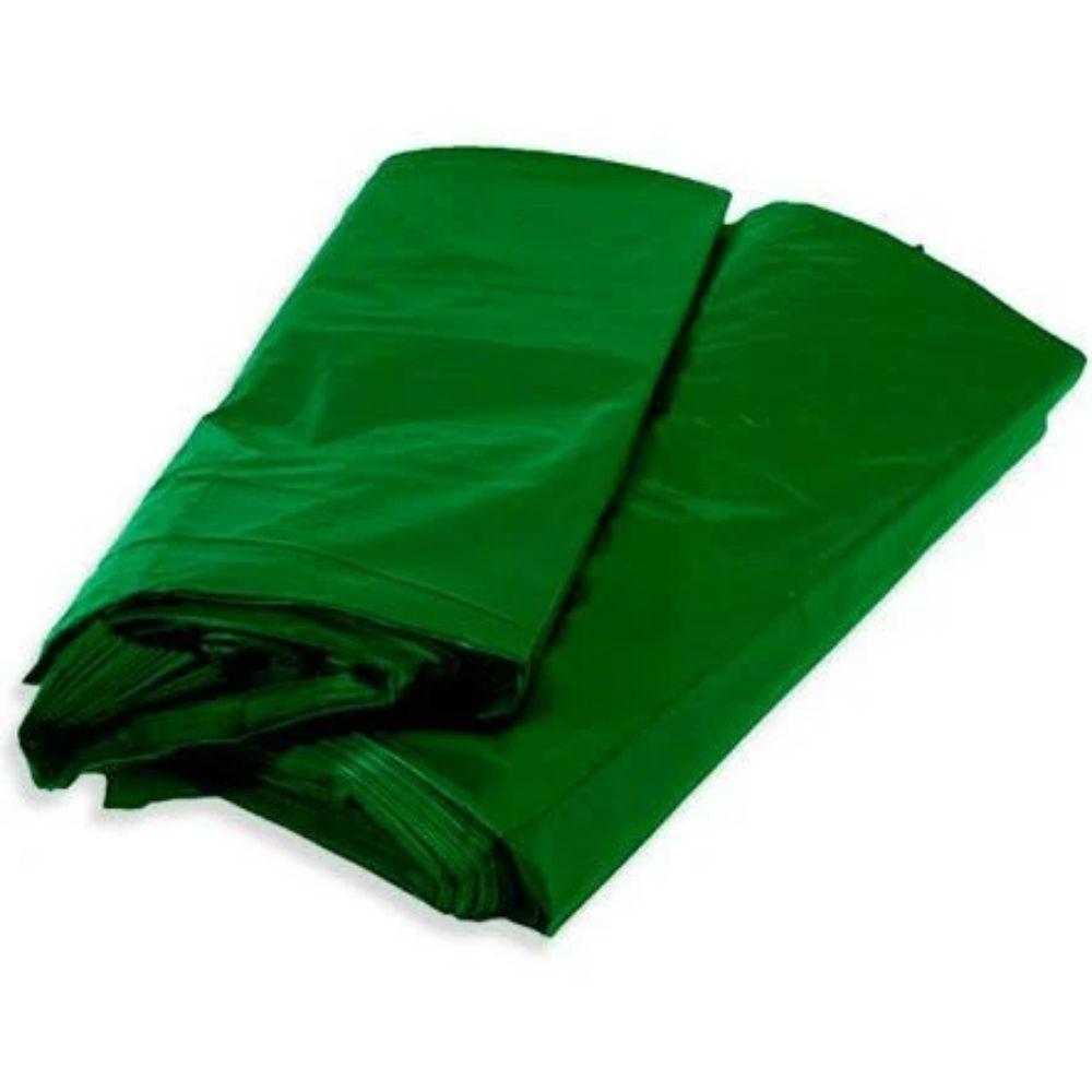 Saco de Lixo 100L Comum Verde - 25 Unidades  - Casa do Roadie