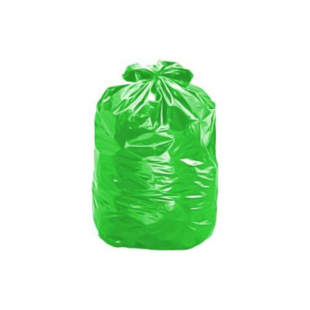Saco de Lixo 100L Verde - com 25 Unidades