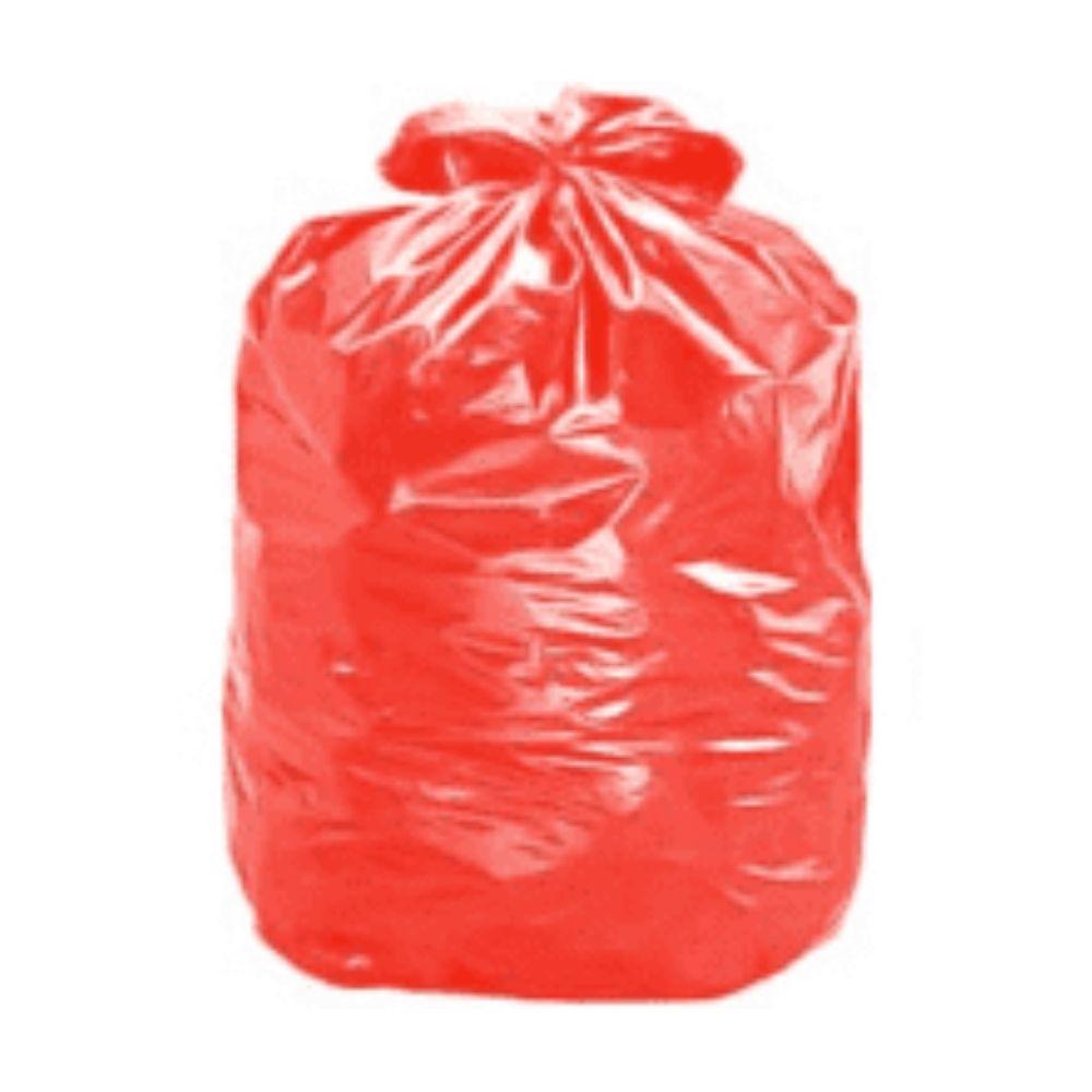 Saco de Lixo 100L Vermelho - com 25 Unidades