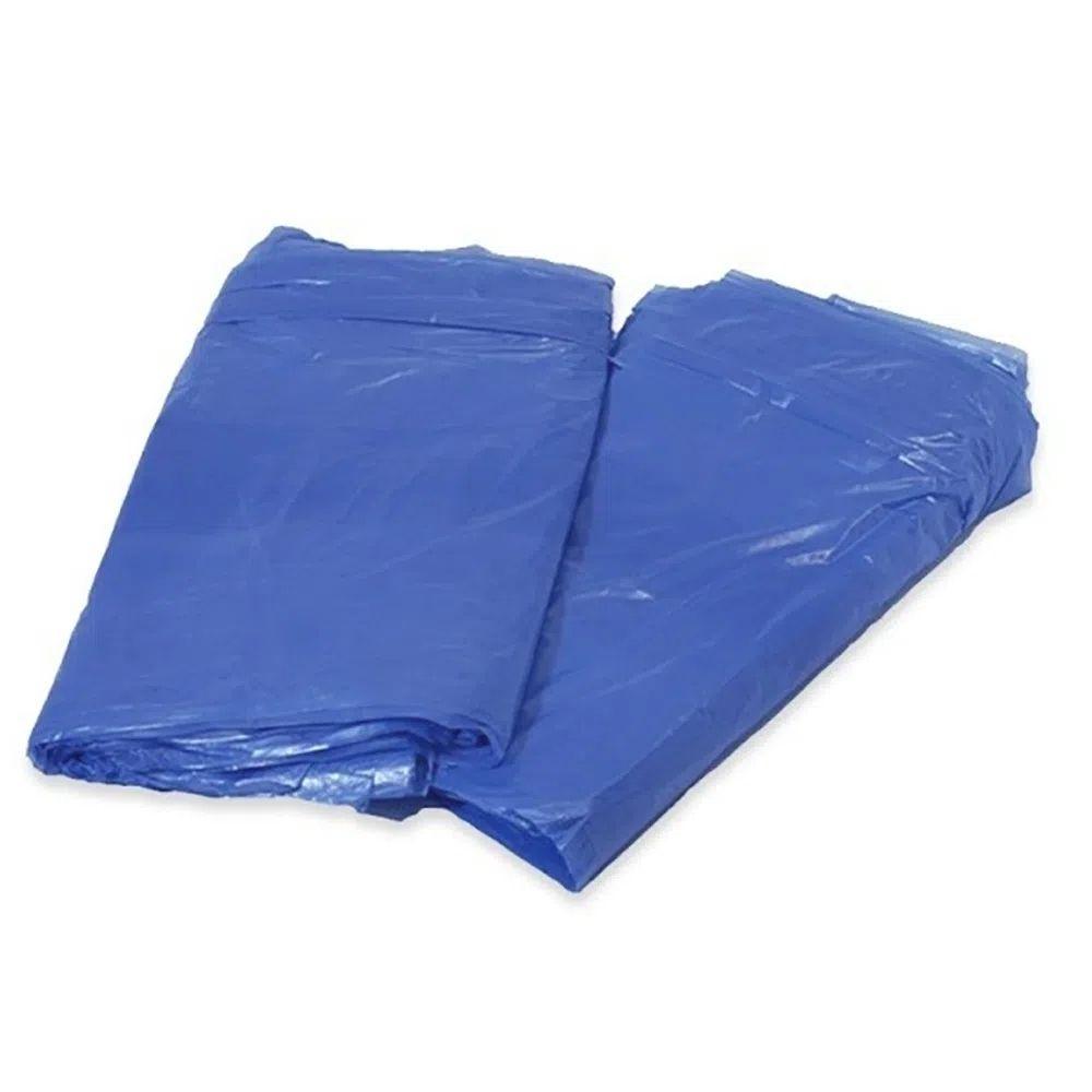 Saco de Lixo 200L Azul - com 25 Unidades  - Casa do Roadie