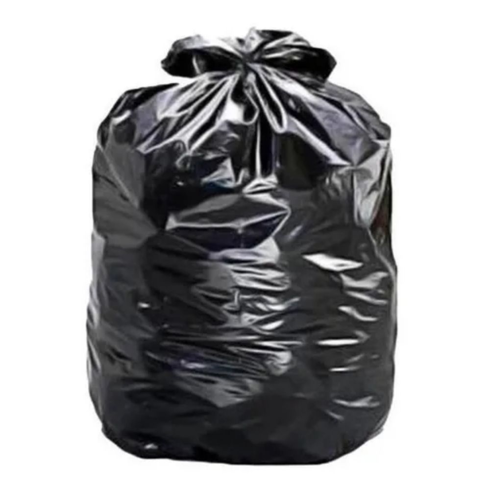 Saco de Lixo 200L Reforçado Preto - 5 unidades