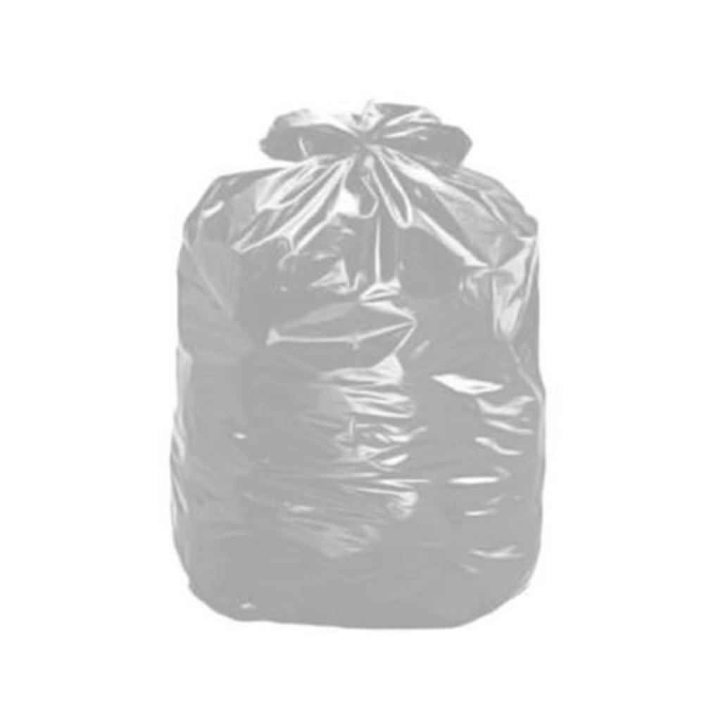 Saco de Lixo 60L Cinza 100 Unidades