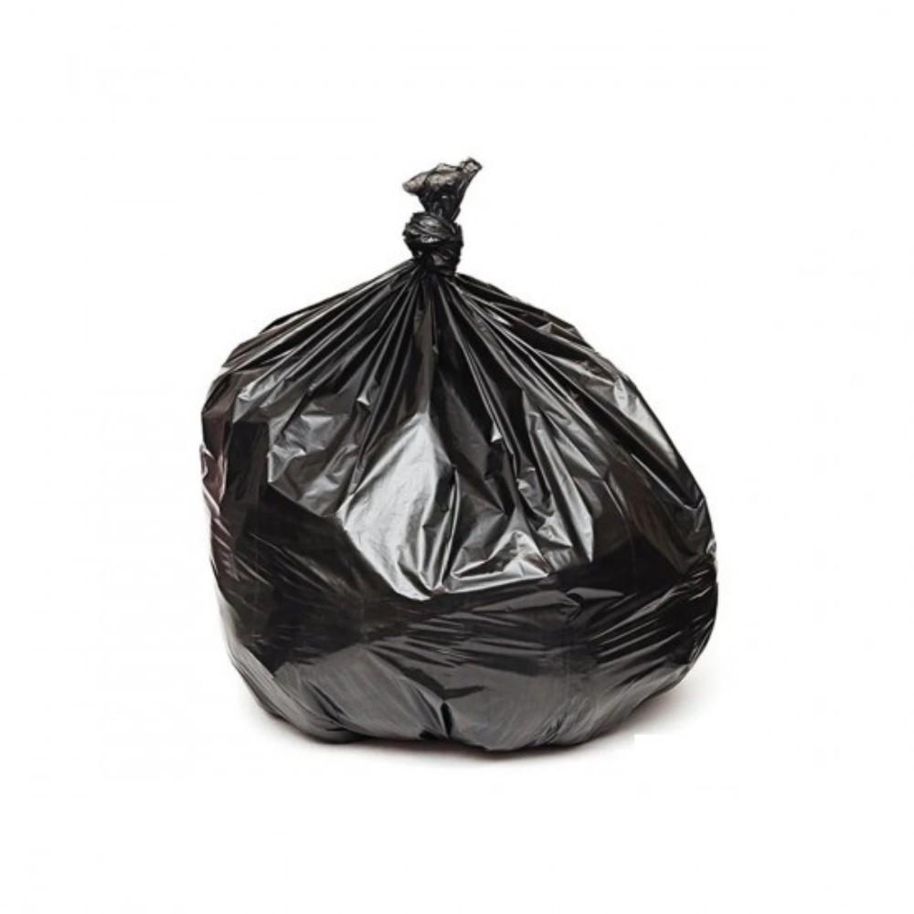 Saco de Lixo Reforçado 100L Preto 5Kg 25 Unidades
