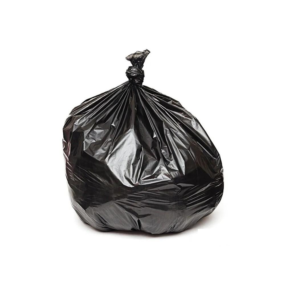 Saco de Lixo Reforçado 200L Preto 5Kg 25 unidades