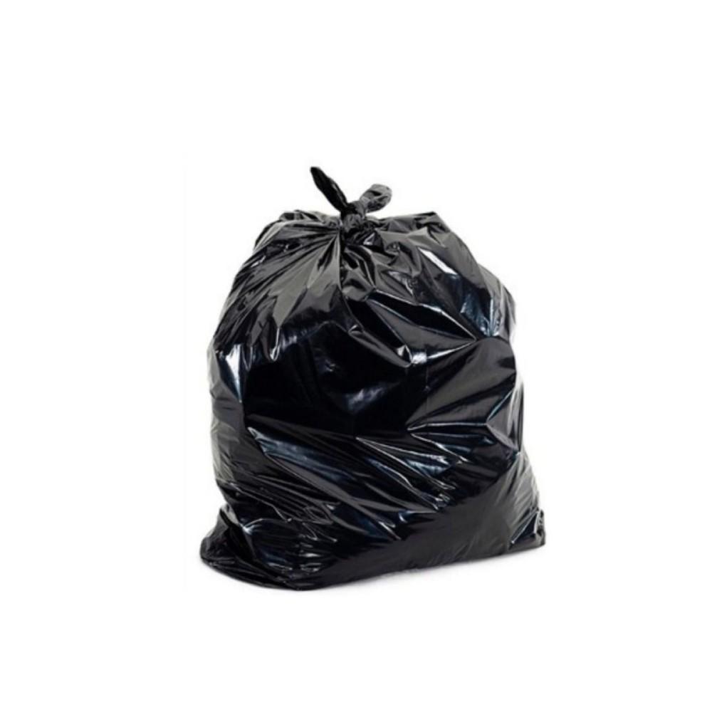 Saco de Lixo Reforçado 60L Preto 1KG 11 Unidades