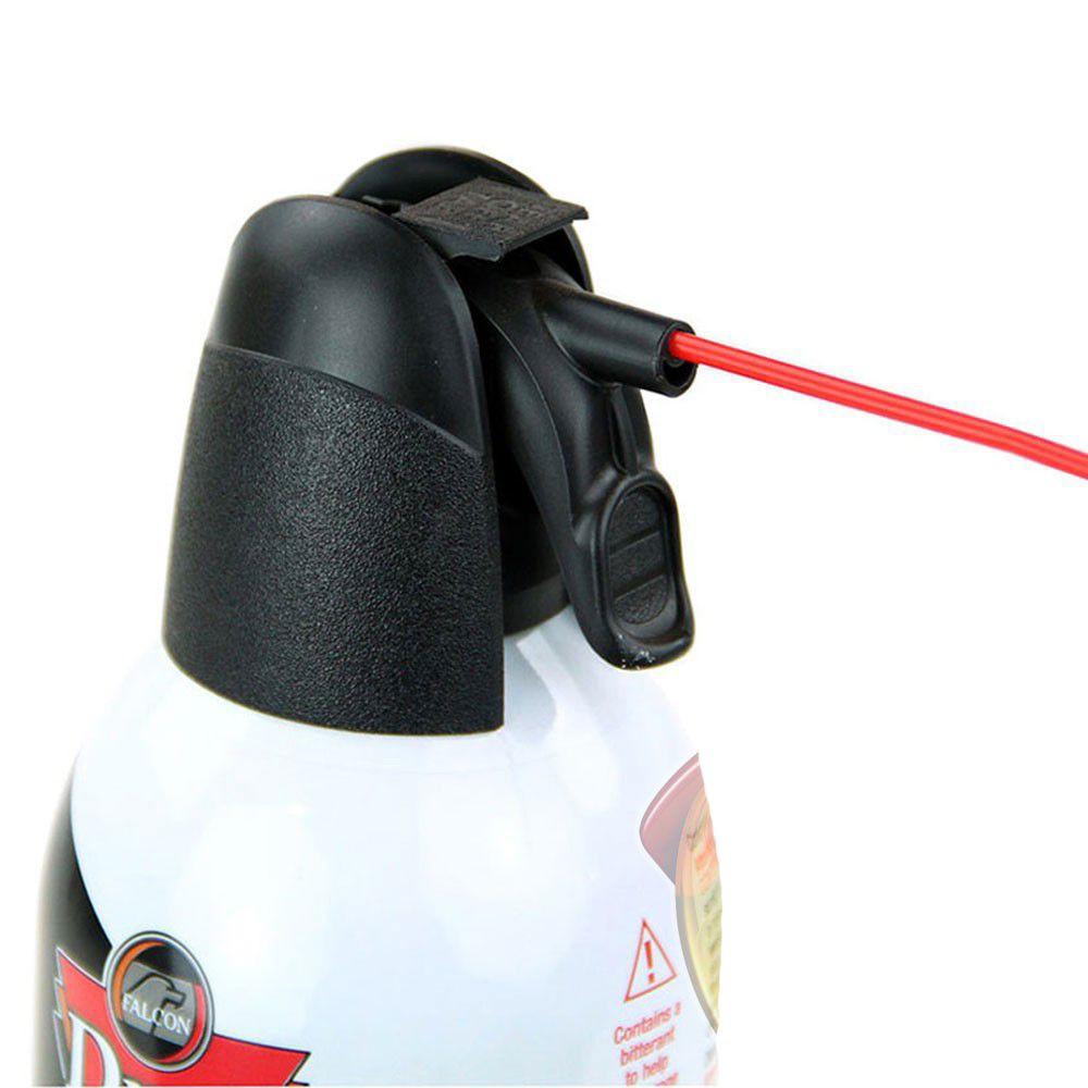 Spray de Ar Comprimido Jumbo Dust-Off Falcon 530ml  - Casa do Roadie