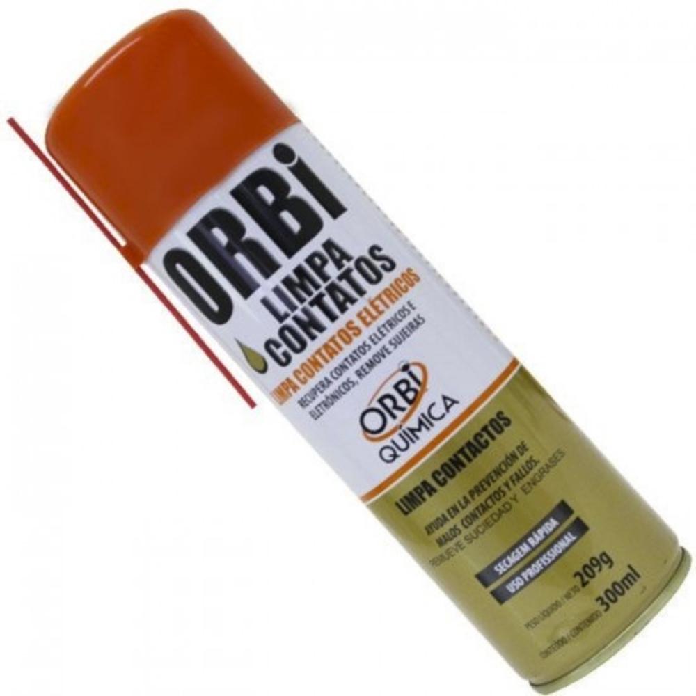 Spray de Secagem Rápida Limpa Contato Orbisil 300 ml  - Casa do Roadie