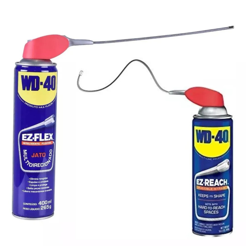 Spray Lubrificante EZ FLEX 400 ml WD-40 - Casa do Roadie