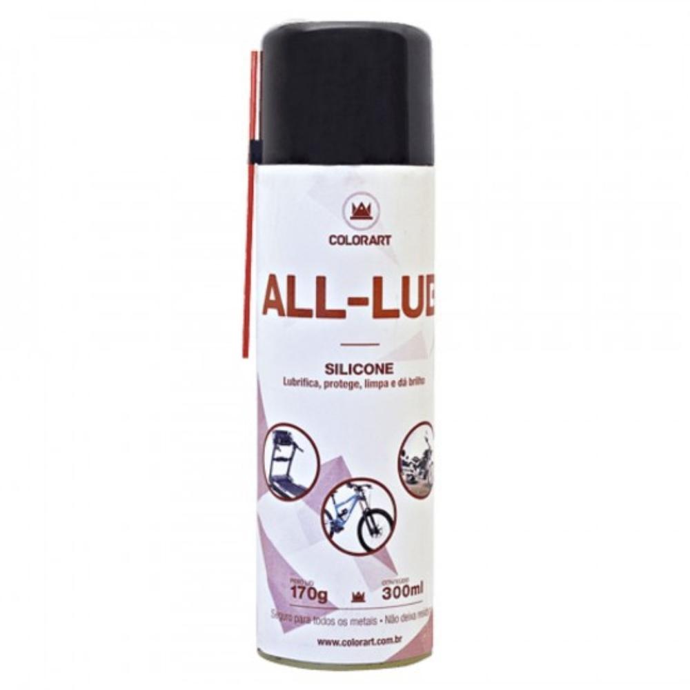 Spray Lubrificante Multiuso Silicone All-Lub Colorart 300ml