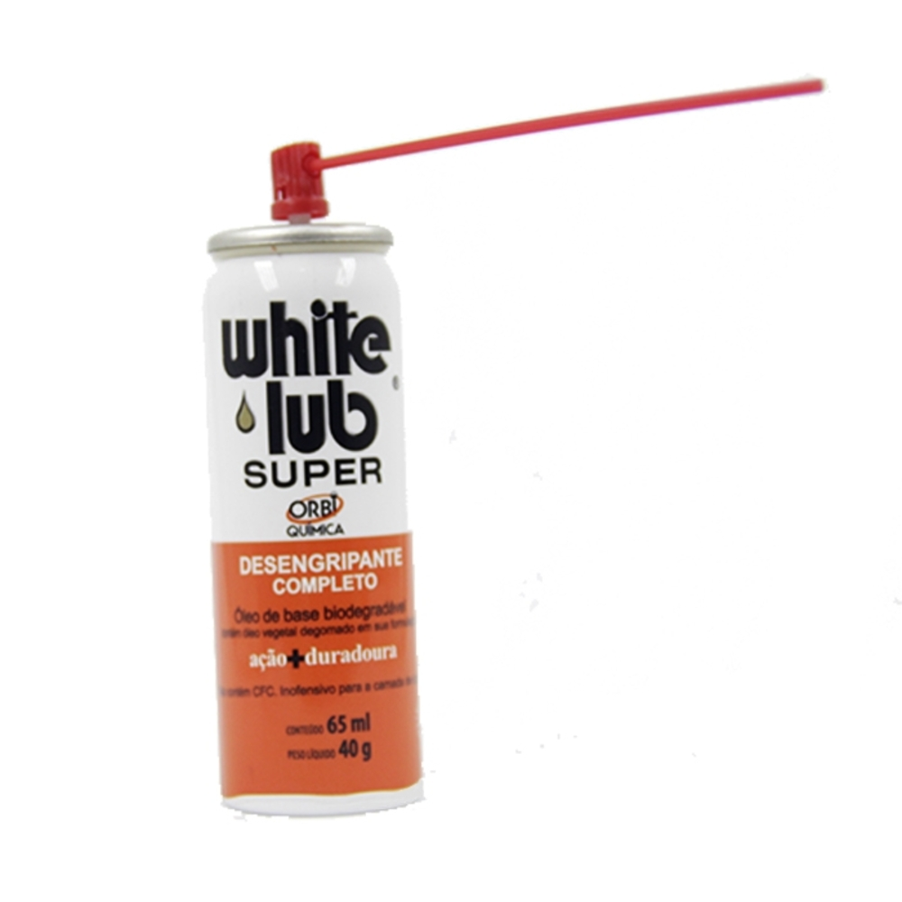Spray Lubrificante White Lub 65 ml  - Casa do Roadie