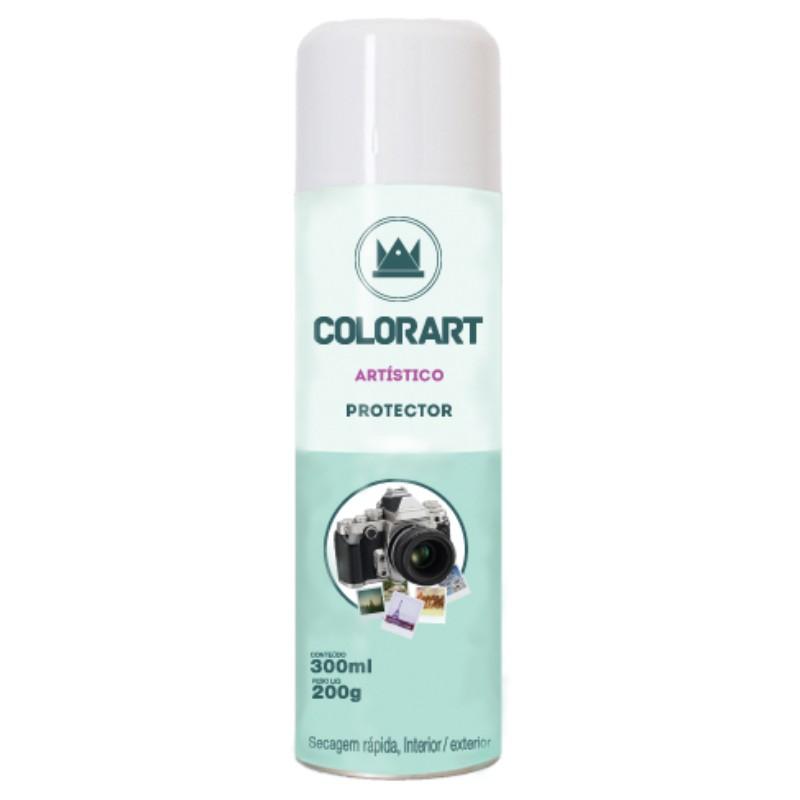Spray Protetor Artístico Fosco Colorart 300ml  - Casa do Roadie
