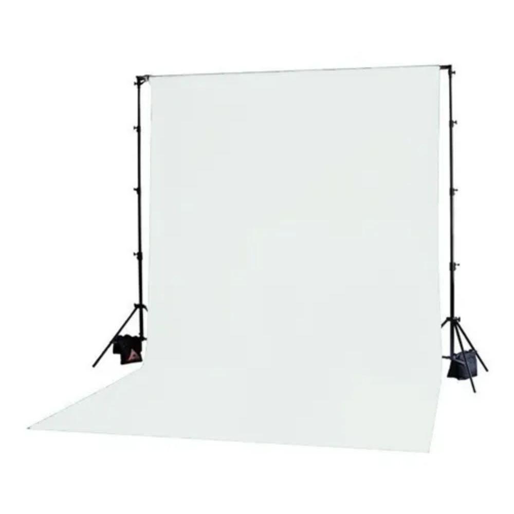 Tecido Tipo Lycra 1,80m de altura (metro linear) Branco