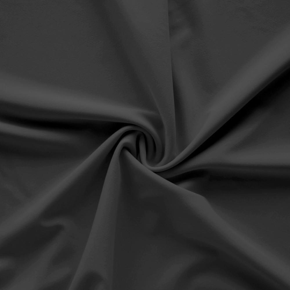 Tecido Tipo Lycra 1,80m de altura (metro linear) Preto