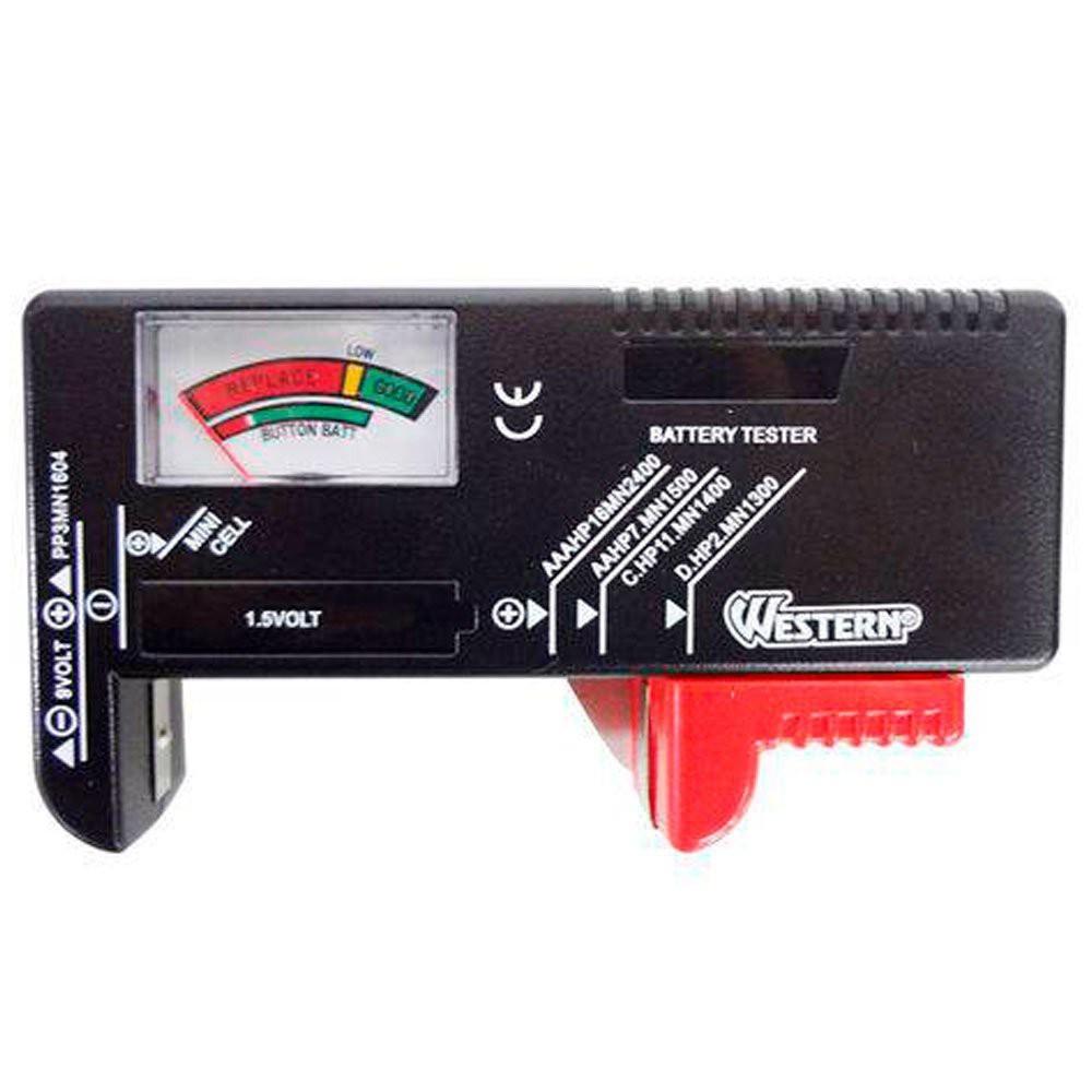 Testador de Pilhas e Baterias Western