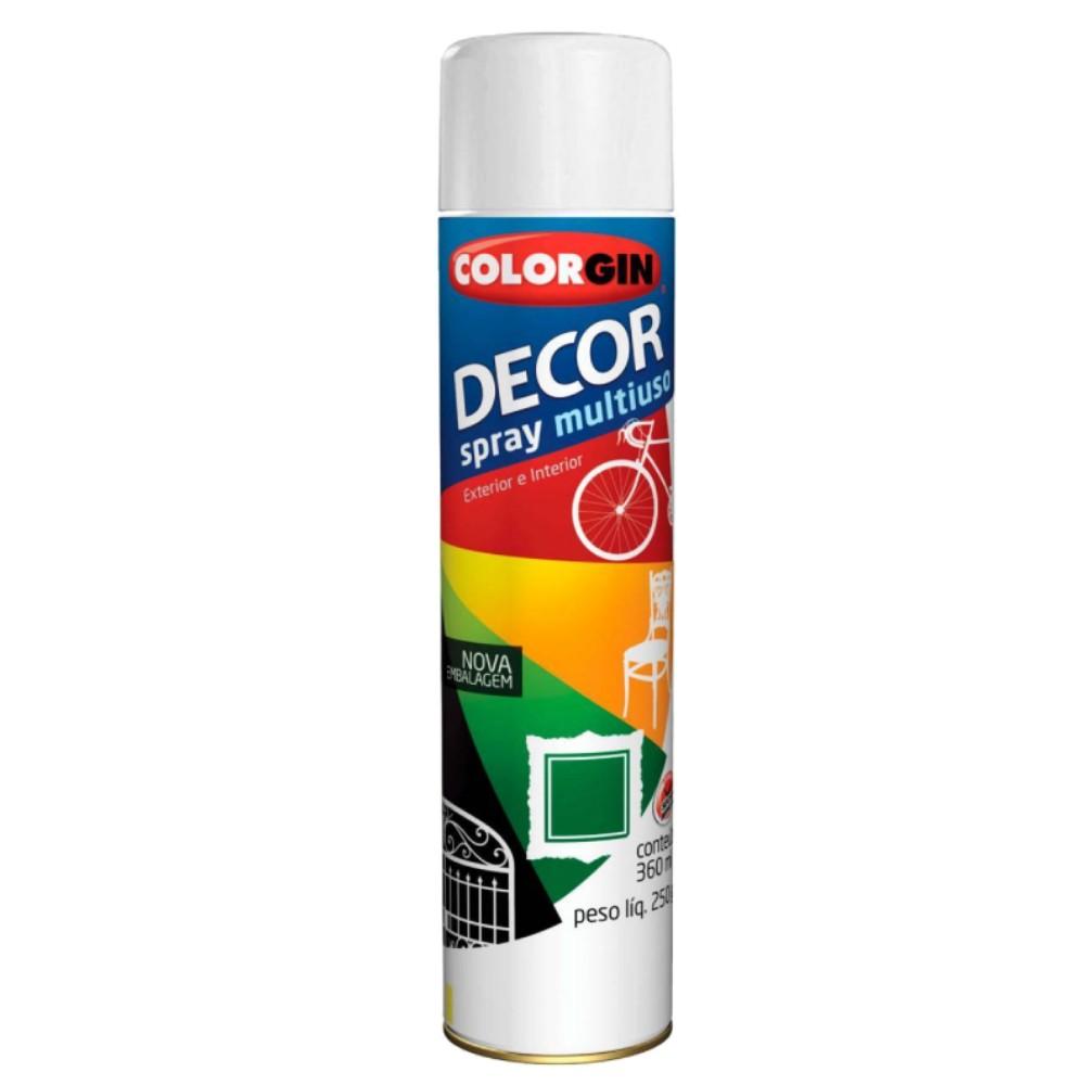 Tinta em Spray Color Gin 360ml Branco Fosco