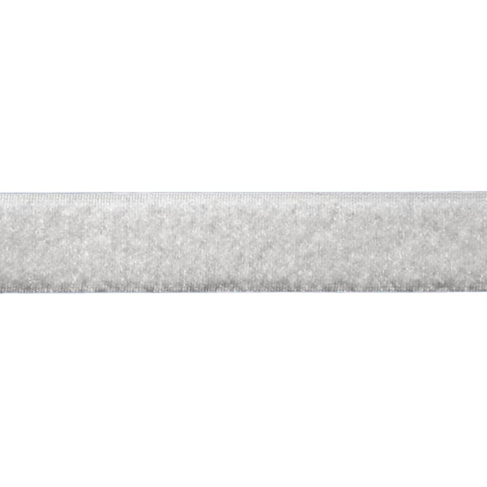 Tira de Contato Adesivo Fêmea Velfix 16mm X 1m Branca