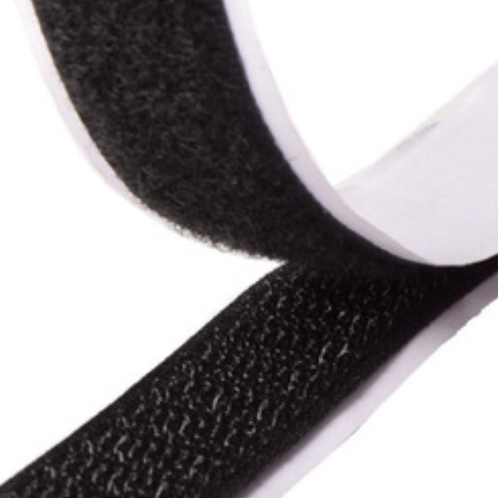 Tira de Contato Adesivo Macho Velfix 50mm X 1m Preta  - Casa do Roadie