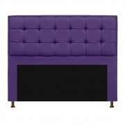 Cabeceira Copenhague 160 cm Queen Size Corano Roxo - ADJ Decor