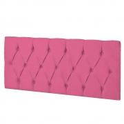 Cabeceira Suspensa Paris 140 cm Casal Corano Pink - ADJ Decor