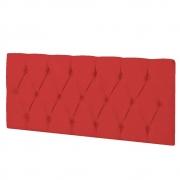 Cabeceira Suspensa Paris 90 cm Solteiro Corano Vermelho - ADJ Decor