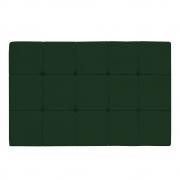 Cabeceira Suspensa Sleep 140 cm Casal Suede Verde - ADJ Decor