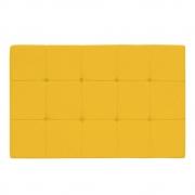 Cabeceira Suspensa Sleep 195 cm King Size Corano Amarelo - ADJ Decor