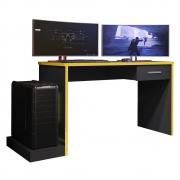 Mesa Gamer DRX 900 Arizona L01 Preto TX/Amarelo TX  - ADJ DECOR