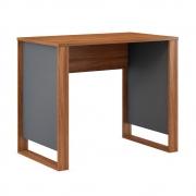 Mesa para Computador Itália D01 Amêndola Touch/Grafito - ADJ DECOR