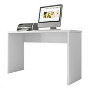 Mesa Para Escritório Parati L01 Branco - ADJ DECOR