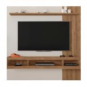 "Painel para TV até 65"" Pequim 1.8 C02 Off White/Buriti - ADJ DECOR"