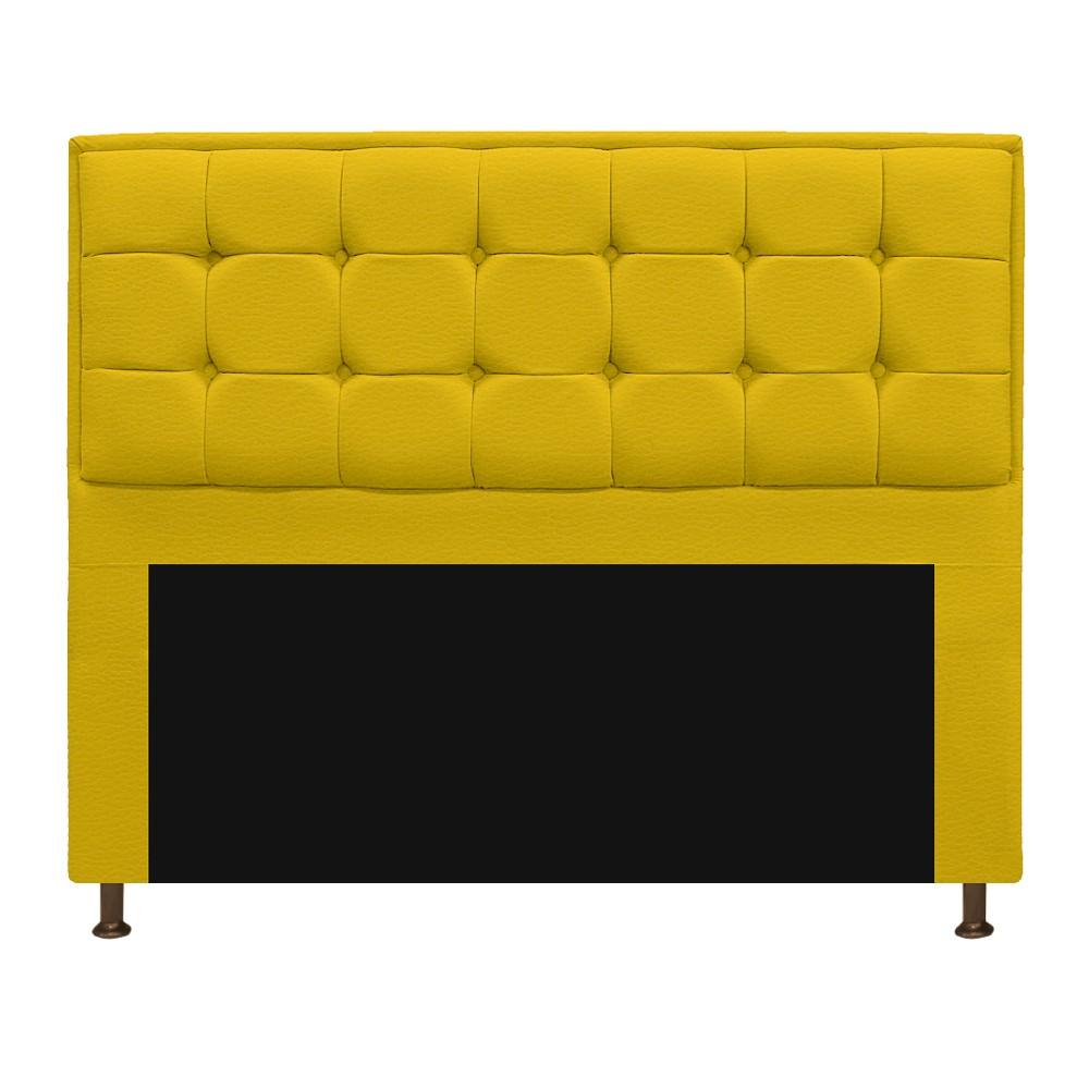 Cabeceira Copenhague 160 cm Queen Size Corano Amarelo - ADJ Decor