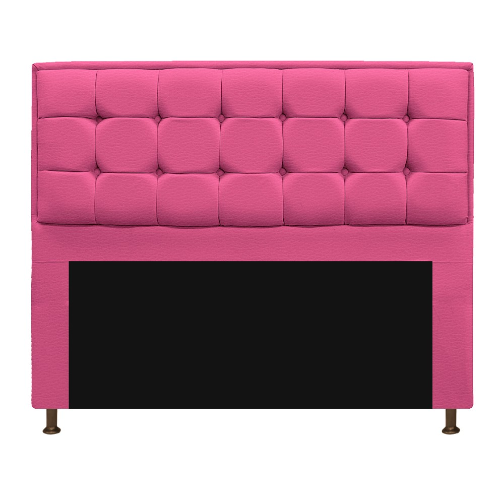 Cabeceira Copenhague 195 cm King Size Corano Pink - ADJ Decor