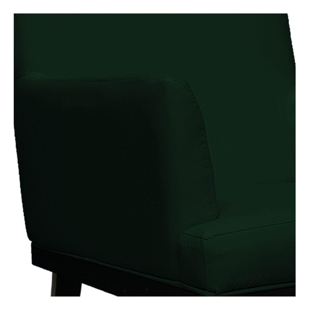 kit 02 Poltronas Vitória Suede Verde - ADJ Decor