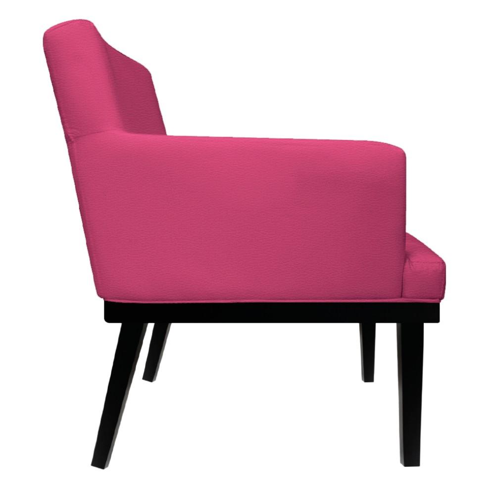 Poltrona Vitória Corano Pink - ADJ Decor