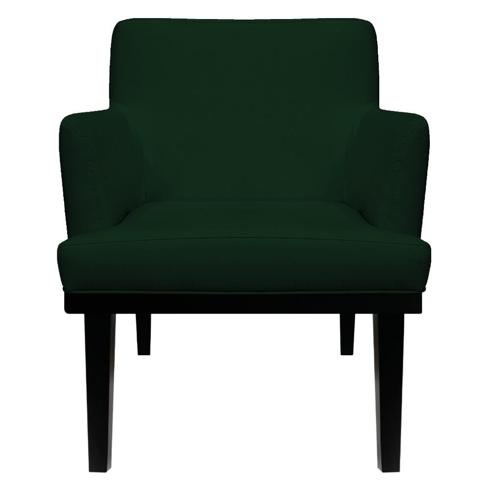 Poltrona Vitória Suede Verde - ADJ Decor