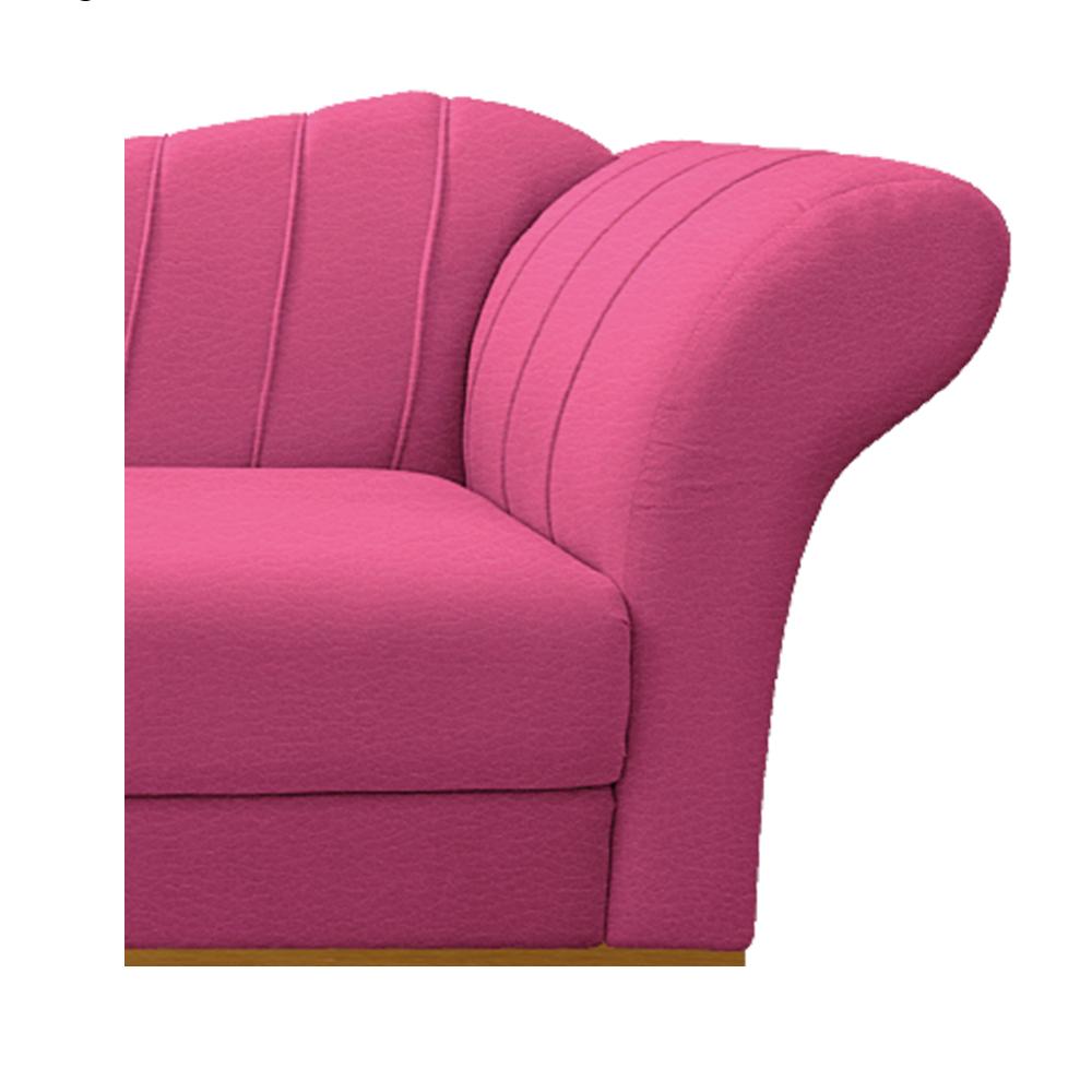 Recamier Vanessa 185cm Lado Esquerdo Corano Pink - ADJ Decor