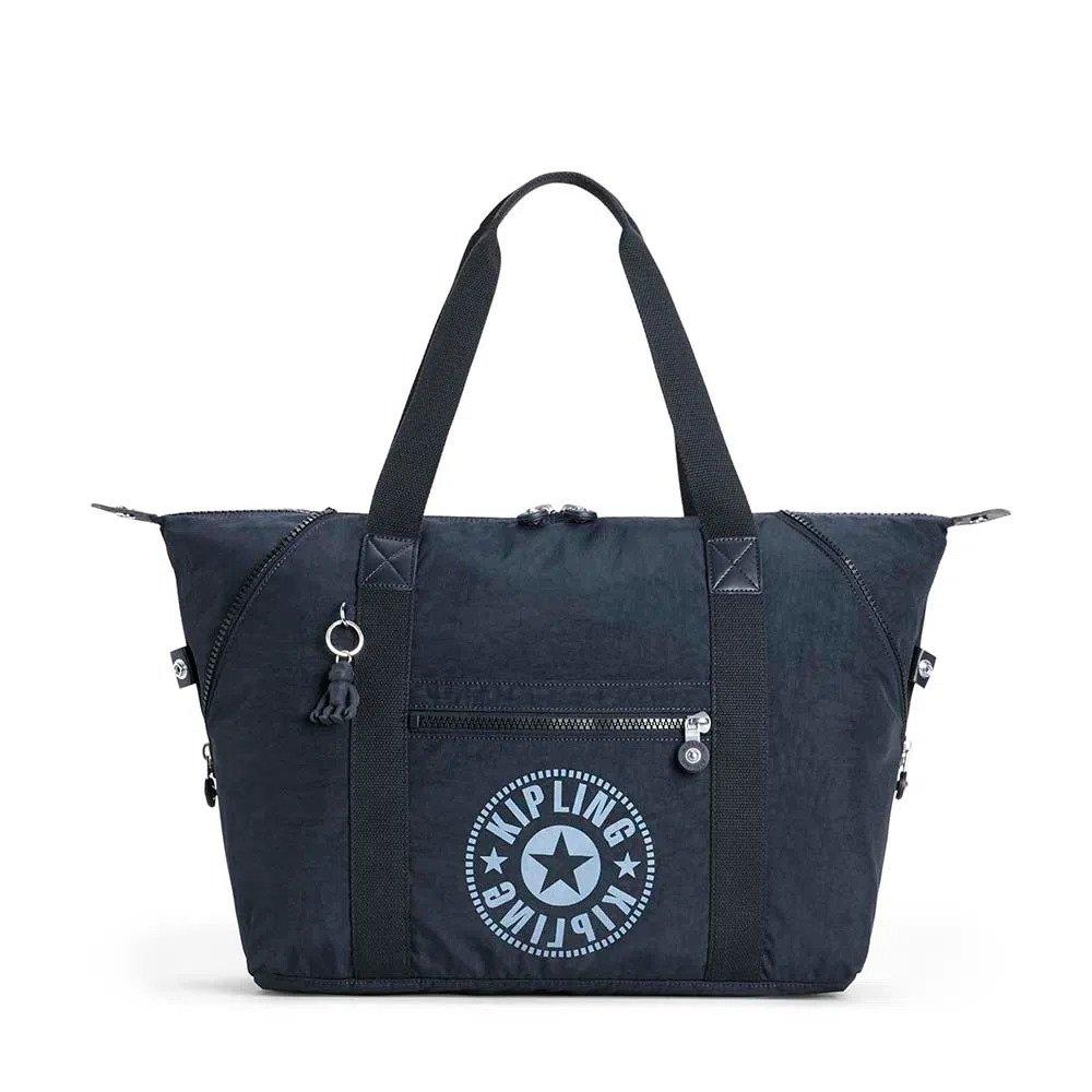 Bolsa Kipling Art M - Azul Marinho