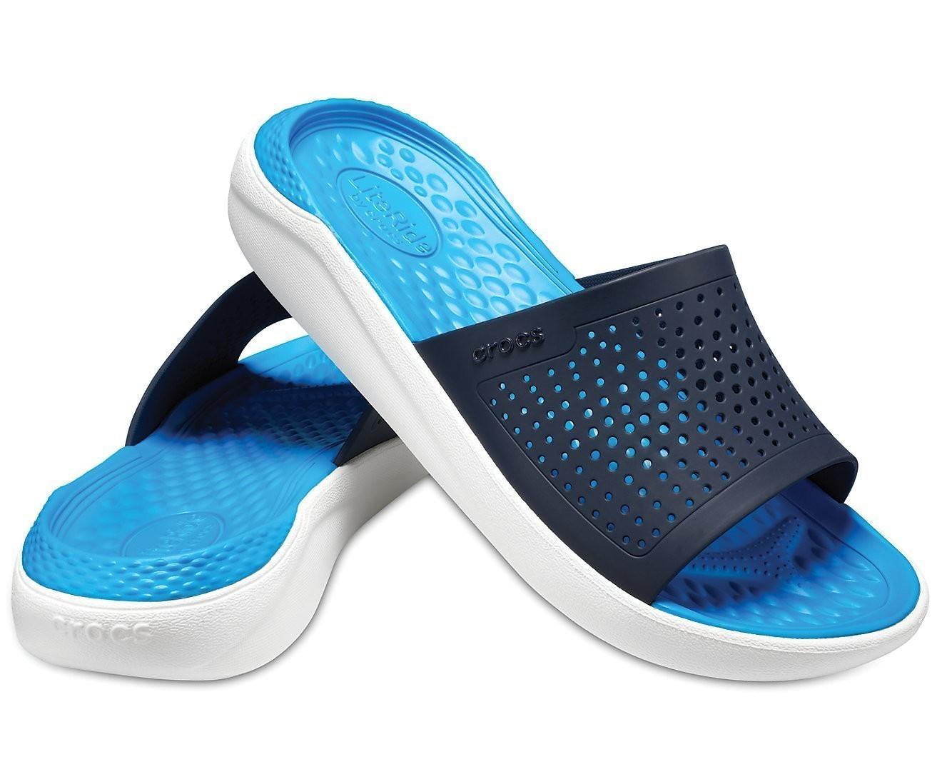 Chinelo Crocs Literide Slide